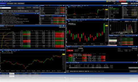 IB証券画面